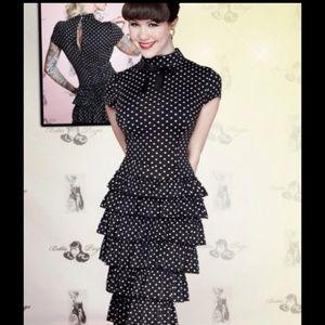 NWT Bettie Page by Tatyana polka dot dress 4x